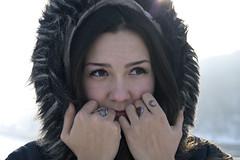 _DSC0199 (Artem_Kotenko) Tags: sony a77 a77v minolta 2485 2485mm kyiv winter autumn sun river bridge park snow cold portrait water walkway
