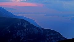 Lake Garda at night (ab.130722jvkz) Tags: italy veneto lombardy alps easternalps bresciaandgardaprealps mountains lakegarda lakes nightlandscape