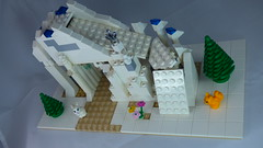 Brick Yourself Custom Lego Set Ski Slope 1