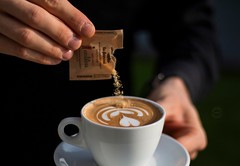 My latteart (vale.rizze89) Tags: bustogarolfo nerviano milano valeriorizzelli valeweb89 polihotel latteartist latteart cappuccino caff coffee