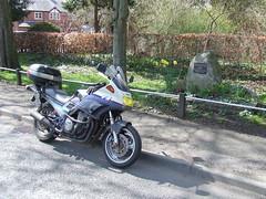 2005 # 90, La Murette Twinning Memorial, Overton, Wrexham.
