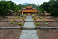 Sung An Temple Gate (Neil Noland) Tags: vietnam hue minhmangtomb