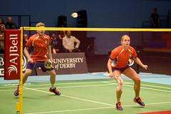 NBLmatch-5100-0284 (University of Derby) Tags: 5100 badminton nbl sportscentre universityofderby match