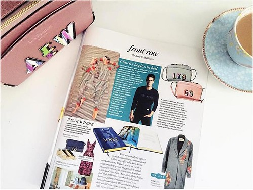 You Magazine Front Row by Amy Edits LKBennett x Boyarde sticker collaboration 1116