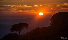 Sunset Sant Pere Martir (QRioLiS) Tags: sunset sant pere martir barcelona collserola