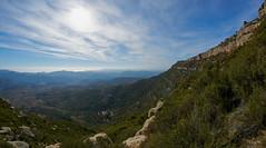 Grau dels tres esgraons (Escipió) Tags: montsant tarragona cornudella paisaje landscape clouds fisheye samyang8mmf35