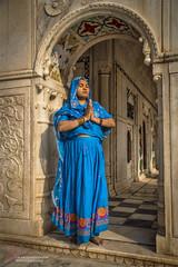 Sadhu Bila Sukkur (S.M.Rafiq) Tags: sadbila sukkur sindh smrafiq syedmrafiq pakistan hindu historical architecture arches religion hinduculture cultural classic colors women ndus river island sadhubila