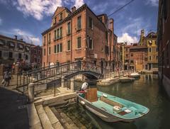 Ponte dei Penini (olemoberg) Tags: pontedeipenini bridge boat canal venice venezia italy italia
