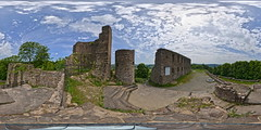 Burg Windeck (Devil9797) Tags: equirectangular burg windeck panorama kugelpanorama ruine wolken clouds hdr