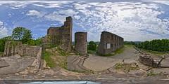 Burg Windeck (Devil9797) Tags: equirectangular burg windeck panorama kugelpanorama ruine wolken clouds hdr