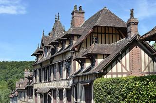 Lyons-la-Forêt (Eure) - Maison où a vécu Maurice Ravel (explore 24-11-16)