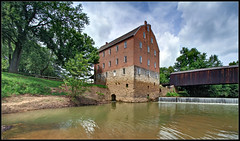 Bollinger Mill State Park (ioensis) Tags: park county bridge mill river whitewater state places august historic mo national missouri covered cape register bollinger 2015 burfordville girardeau jdl ioensis ©2015 07652007067tmf1b2015