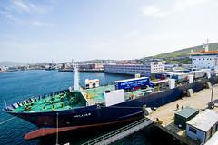 Lerwick Harbour (Transport Scotland) Tags: ferry port docks ship unitedkingdom transport transportation cruiseship shipping logistics imports exports gbr importation lerwickshetland