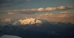 sunset (Aleskyer) Tags: winter sunset mountain snow clouds turkey antalya peaks kemer