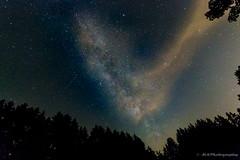Milky Way (MSPhotography-Art) Tags: nature clouds trekking germany de landscape deutschland nacht outdoor natur wolken alb landschaft sterne milkyway sternschnuppe shootingstar badenwrttemberg reutlingen sternenhimmel eningenunterachalm milchstrase schwbsichealb