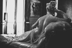 Galleria Borghese *3 (casalechiara) Tags: blackandwhite bw italy sculpture rome detail roma art classic statue museum blackwhite back arte museo marble antonio statua bianco nero bianconero galleria canova borghese dettaglio marmo paolina