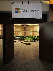 Microsoft's play room (Nelo Hotsuma) Tags: hall dallas texas play expo lets fort united center gaming exposition convention worth dfw states plano