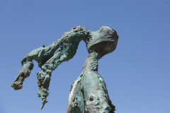 Mgarr Ferry Terminal (Chris J Hart) Tags: sculpture bronze gozo mgarr ghajnsielem gajnsielem