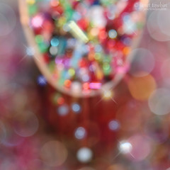 A Spoonful of Sparkle (j.towbin ©) Tags: light macro beads bokeh spoon sparkle macromondays allrightsreserved©