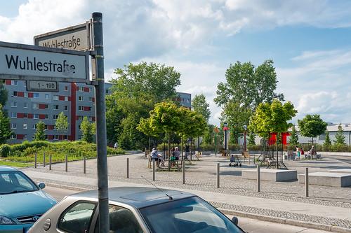 Fred-Löwenberg-Platz Foto: Ole Bader