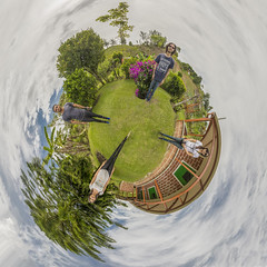 Otro Little Planet/Other Little Planet (Juan F. Ramrez Meja Fotografa) Tags: friends cloud amigos tree clouds photography rboles colombia nubes rbol nube antioquia finca fotografa 2015 elsantuario littleplanet