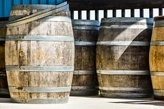 Mr. Weir's wine barrels (PJMixer) Tags: family nikon barrels winery winecountry