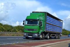 Renault Premium reg BX62 HFA (Ex City Link) (erfmike51) Tags: lorry artic renaultpremium curtainside