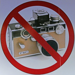 No photography (Leo Reynolds) Tags: xleol30x squaredcircle signsafety signcirclebar camera photography sqset122 signno xxx2015xxx nophotography groupeffectedcameras sign