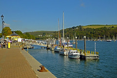 The Ferry Pontoon Dartmouth Devon (Cornishcarolin. Thank you everyone xxxx) Tags: water boats devon rivers dartmouth pontoons pontoon riverdart