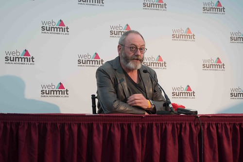 WEB SUMMIT 2015 - LIAM CUNNINGHAM MEETS THE PRESS [ACTOR]-109587