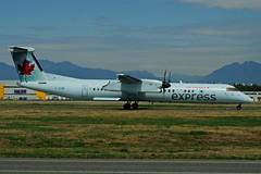 C-GGMI (JAZZ) (Steelhead 2010) Tags: yvr bombardier aircanada dhc8 creg dhc8q400 cggmi aircanadaexpress