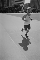 runner (li-penny) Tags: bw film taiwan run taipei runner   2015  ilfordxp2super400  ilfordxp2super400camera