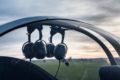 Ultralight (e_impact) Tags: contrast fun fly flying aircraft air transport flight machine fast hobby landing communication headphones quick takeoff breezer