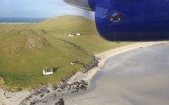 Island of Barra (Graham`s pics) Tags: barra islandofbarra aircraft aeroplane airplane beach loganair flybe dhc6 twinotter outerhebrides scotland