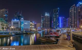 Dubai Marina .