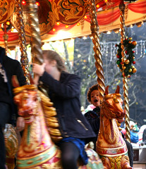 Yes (tezzer57) Tags: christmas uk urban london candid carousel leicestersquare merrygoround christmasfair londonist