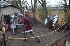 Mittelalter Weihnachtsmarkt 2015 - Zauberkessel Walsrode - Lager Sturvolt - Heike (5) (m_przybilla) Tags: heike schwert walsrode zauberkessel sturvolt waffengang