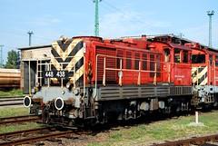 M44.438 (Tams Tokai) Tags: start train eisenbahn railway loco locomotive bahn lokomotive lok mv vonat vast mozdony