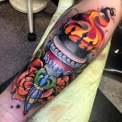 Torch It (RandalFalcone) Tags: art tattoo houston tattoos tat tattooart tats colortattoo blackandgreytattoo customtattoo houstontattoo springtattoo woodlandstattoo conroetattoo
