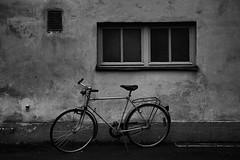 (Mikko Luntiala) Tags: blackandwhite bw texture window monochrome bike bicycle wall contrast suomi finland dark helsinki december kallio decay monochromatic crescent creativecommons rough grayscale pime decayed 015 greyscale pinta polkupyr d600 ikkuna pyr sein harmaa mustavalkoinen wornoff joulukuu kontrasti synkk kulunut nikond600 afsnikkor2470mmf28ged mikkoluntiala monokromaattinen