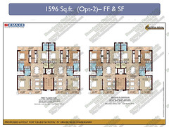 Datasheet of Omaxe Celestia Royal 3BHK Floors at Mullanpur