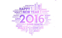 Happy New Year 2016 Wishes Messages HD Wallpaper - StylishHDWallpapers (StylishHDwallpapers) Tags: happy newyear wishes greetings messages 2016 newyear2016