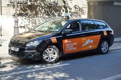Paris Taxi Peugeot 408 12.9.2016 3734 (orangevolvobusdriver4u) Tags: 2016 archiv2016 france frankreich paris taxi teksi parisienne taxiparisienne peugeot 408 wagon kombi estate peugeot408 peugeot408kombi