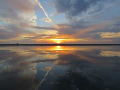 IMG_0025x (gzammarchi) Tags: italia paesaggio natura mare ravenna lidodidante alba sole nuvola riflesso
