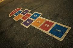 DSC02505 (Kyle Becker) Tags: hopscotch asphalt schoolyard