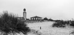 A church in the sand (jcfasero) Tags: dunas dune iglesia church aveiro portugal street stphotographia bw blackwhite outdoor landscape naturaleza nature