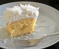 it's a piece of cake (tmattioni) Tags: cupcake coconut lemon icing cake