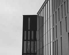 Live. (sofjet) Tags: monochrome blackwhite bw blackandwhite building architecture malmlive skandinavien scandinavia skne schweden sverige sweden malmo malm