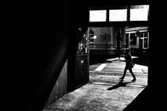 (formwandlah) Tags: kaiserslautern sunny day winter street photography streetphotography silhouette silhouettes silhouetten shadow schatten dark noir urban candid city strange gloomy cold sureal bizarr skurril abstract abstrakt melancholic melancholisch darkness light bw blackwhite black white sw monochrom high contrast ricoh gr pentax formwandlah thorsten prinz licht shadows fear paranoia einfarbig schwarzer hintergrund