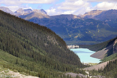 Lake Louise - Teahouse Hike (Terry Sohl) Tags: lake louise teahouse hike banff national park summer mountains valley hotel